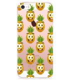 iPhone 5/5S/SE Hoesje Happy Ananas