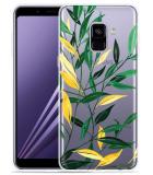 Samsung Galaxy A8 2018 Hoesje Watercolor Flowers