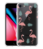 iPhone 8 Hoesje Flamingo Pattern