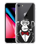 iPhone 8 Hoesje Chimp Smoking