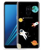 Samsung Galaxy A8 2018 Hoesje Astronaut