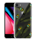 iPhone 8 Hoesje Peacock Feathers