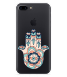 iPhone 7 Plus Hoesje Hand Ornament