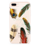 iPhone 8 Plus Hoesje Feathers World
