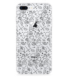 iPhone 8 Plus Hoesje Tattoo zwart