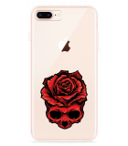 iPhone 8 Plus Hoesje Red Skull
