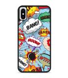 iPhone X Hardcase hoesje Comic