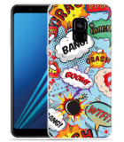 Samsung Galaxy A8 2018 Hoesje Comic