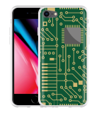 iPhone 8 Hoesje Microcircuit