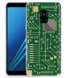 Samsung Galaxy A8 2018 Hoesje Microcircuit
