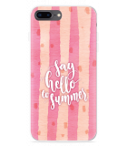iPhone 8 Plus Hoesje Say Hello to Summer