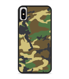 iPhone X Hardcase hoesje Army Camouflage Green