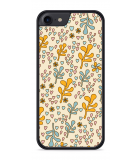 iPhone 8 Hardcase hoesje Doodle Flower Pattern