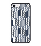 iPhone 8 Hardcase hoesje Isometric Pattern