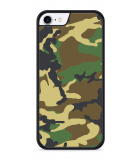 iPhone 8 Hardcase hoesje Army Camouflage Green