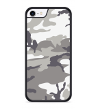 iPhone 8 Hardcase hoesje Army Camouflage Grey