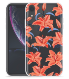 Apple iPhone Xr Hoesje Flowers