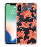 Apple iPhone XS Hoesje Flowers