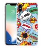 Apple iPhone Xs Hoesje Comic