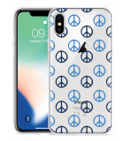 Apple iPhone Xs Hoesje Peace