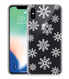 Apple iPhone Xs Hoesje Snow
