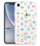 Apple iPhone Xr Hoesje Diamonds