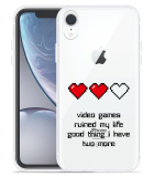 Apple iPhone Xr Hoesje Gamers Life