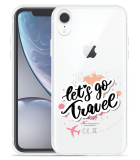 Apple iPhone Xr Hoesje Go Travel The World