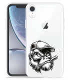 Apple iPhone Xr Hoesje Gorilla Head