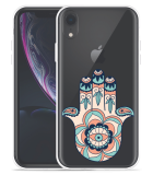 Apple iPhone Xr Hoesje Hand Ornament