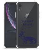 Apple iPhone Xr Hoesje Life is too Short