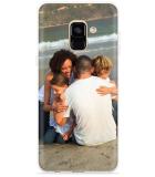 Samsung Galaxy A8 2018 Hoesje met eigen Foto