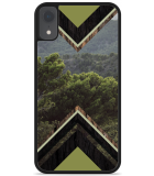 iPhone Xr Hardcase hoesje Forest wood
