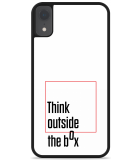 iPhone Xr Hardcase hoesje Think outside the Box