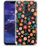 Huawei Mate 20 Lite Hoesje Always have flowers