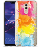 Huawei Mate 20 Lite Hoesje Color Splatters