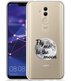 Huawei Mate 20 Lite Hoesje Fly me to the Moon