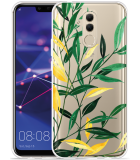 Huawei Mate 20 Lite Hoesje Watercolor Flowers
