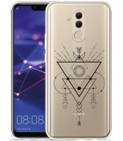 Huawei Mate 20 Lite Hoesje Abstract Moon Black