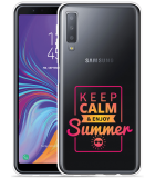 Galaxy A7 2018 Hoesje Summer Time