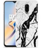 OnePlus 6T Hoesje Marmer Design