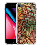 iPhone 8 Hoesje Abstract colorful