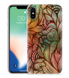 Apple iPhone X Hoesje Abstract colorful