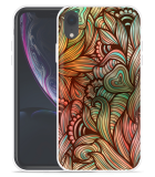 Apple iPhone Xr Hoesje Abstract colorful