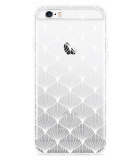 iPhone 6/6S Hoesje White Abstract Pattern