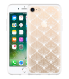iPhone 7 Hoesje White Abstract Pattern