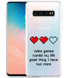 Galaxy S10 Hoesje Gamers Life