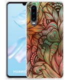 Huawei P30 Hoesje Abstract colorful