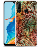 Huawei P30 Lite Hoesje Abstract colorful