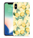 Apple iPhone X Hoesje Lemons